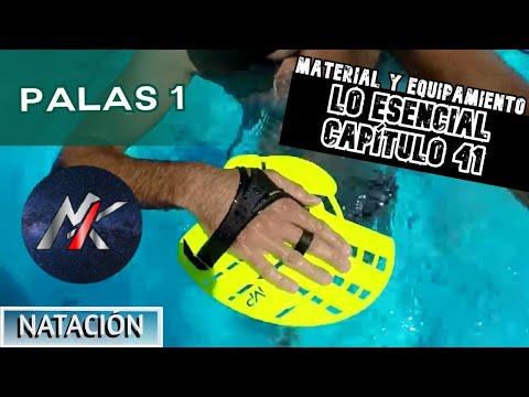 MATERIAL DE NATACIÓN 07: Palas (parte 1/2)
