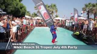 Nikki Beach St Tropez July 4th party 2013