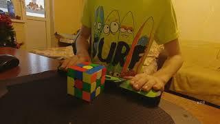 4.53 breakdown сборка кубика рубика 3х3  за 4.53 feliks zemdegs 4.59 я 4.53
