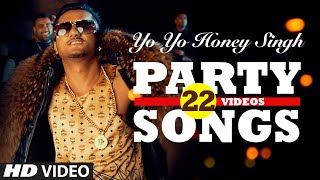 Gambar cover Yo Yo Honey Singh's BEST PARTY SONGS (22 Videos)| HINDI SONGS 2016 | BOLLYWOOD PARTY SONGS |T-SERIES