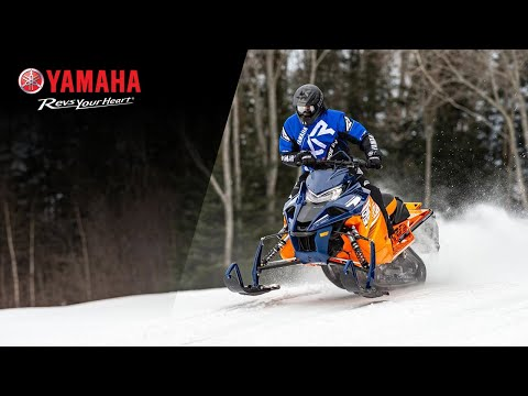 2021 Yamaha Sidewinder X-TX LE 146 in Tamworth, New Hampshire - Video 1