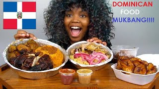 FIRST TIME TRYING DOMINICAN FOOD!! MUKBANG!