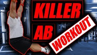 Get Washboard abs with this killer ab workout