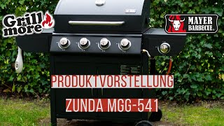 Zunda Gasgrill MGG 541 - Grill & more - Unboxing & Produktvorstellung by Daughter & Dad's Sizzlezone