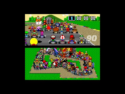 Super Mario Kart With 101 Players Is Beautiful Chaos