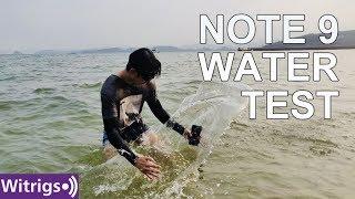 Samsung Note 9 Waterproof Test