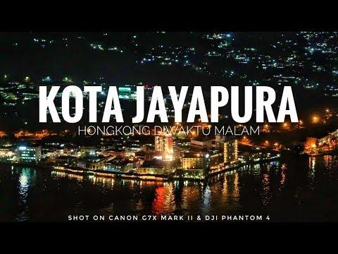 """Kota Jayapura """"Hongkong Diwaktu Malam"""""""