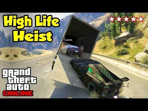 GTA 5 Online - HIGH LIFE HEIST! (Heists Preparation Ep. 5) [GTA V Funny Moments]