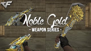 CrossFire China 2.0 : Noble Gold (Update 04) Weapon Series [Gameplay & Showcase]
