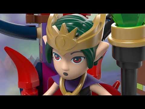 Vidéo LEGO Elves 41188 : L'évasion de la forteresse du roi Gobelin