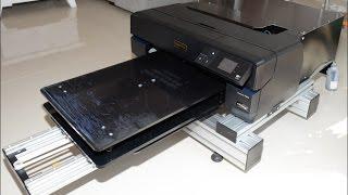 Epson S22 Homemade Diy Dtg T Shirt Printer - DIY