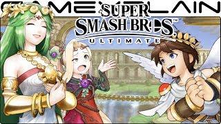 Super Smash Bros. Ultimate: All Palutena's Guidance Secret Conversations (Easter Egg)