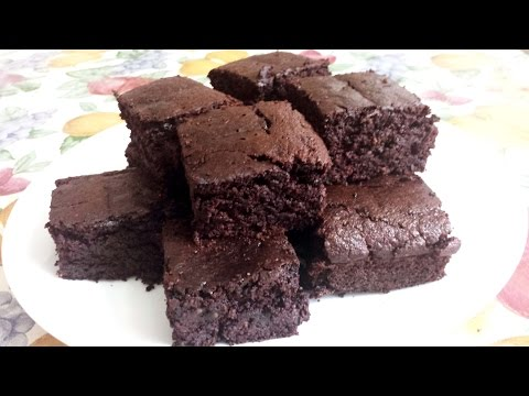 Video Oatmeal Banana Brownies| Healthier and Gluten-free Recipe