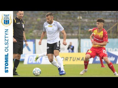 Skrót meczu Stomil Olsztyn - Korona Kielce 0:1