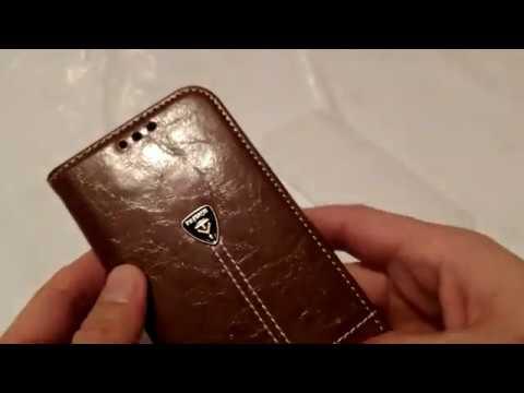 Обзор кожаного чехла для смартфона zte axon 7. Review leather case for smartphone zte axon 7