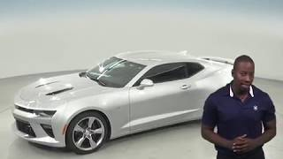 183451 - New, 2018, Chevrolet Camaro, SS, Coupe, Silver, Test Drive, Review, For Sale -
