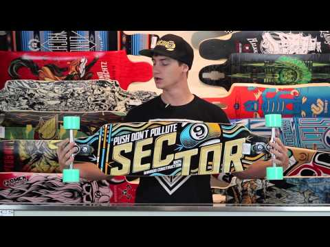Sector 9 Sentinel II 37.5″ Bamboo Sidewinder Complete Longboard Review – Tactics.com