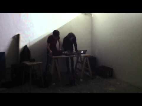 Michael Jackson Pollock - MICHAEL JACKSON POLLOCK Live @ Galerie 209, Brno - Excerpt #1