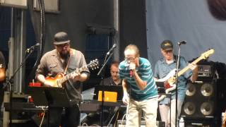 Ed Palermo Big Band Ft Jimmy Vivino & Felix Cabrera - One More Heartache 8-22-15 NYC