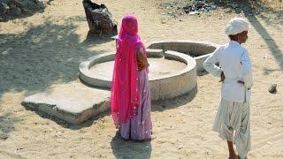 Real Indian Village People.Kids.Girls,Woman,Old Man near Bhinmal,Rajasthan,India.Rajasthani.भीनमाल