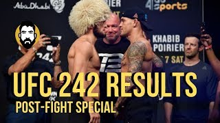 UFC 242 Results: Khabib Nurmagomedov vs. Dustin Poirier | Post-Fight Special | Luke Thomas