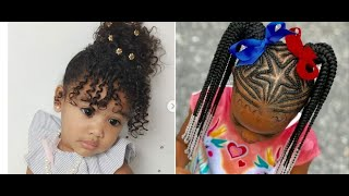 #hairstylesforkids HAIRSTYLES FOR KIDS // BRAIDS FOR GIRLS COMPILATION