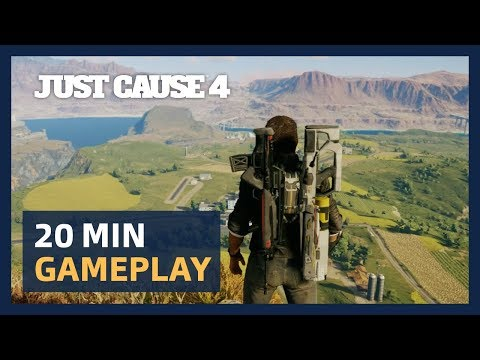 19 minutes de gameplay : présentation Gamescom de Just Cause 4