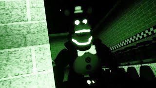 EXPLORING FREDBEARS AFTER THEY CLOSE IS A BAD IDEA | FNAF Five Nights at Fredbears 2