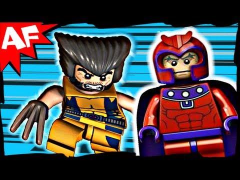 Vidéo LEGO Marvel Super Heroes 6866 : L'hélicoptère de Wolverine