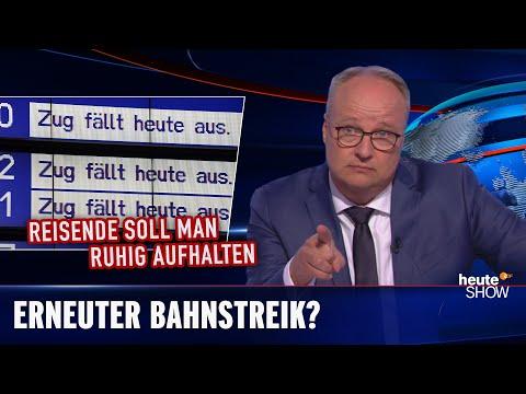 Stávka železnic: Na koho máte být opravdu naštvaní? - heute show
