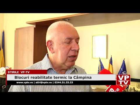Blocuri reabilitate termic la Câmpina