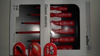 7-teiliges VDE Elektro Schraubendreher-Set von Wiha