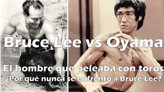 Bruce Lee vs Mas Oyama ¿porque nunca se enfrentaron? Wing Chun - Jeet Kune Do vs karate kyokushin