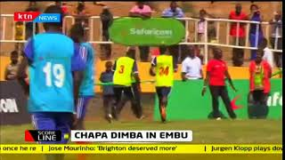 Chapa Dimba na Safaricom tournament takes place in Embu county