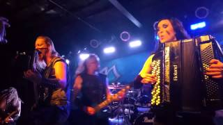 Ensiferum - Axe of Judgement @ The Bottom Lounge - Chicago, IL
