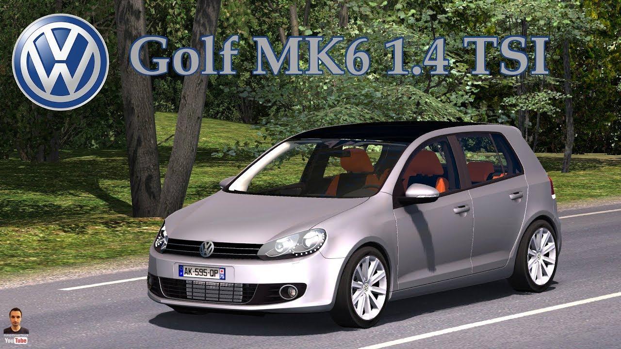 Golf Mk6 1 4 Tsi Mod For Ets 2