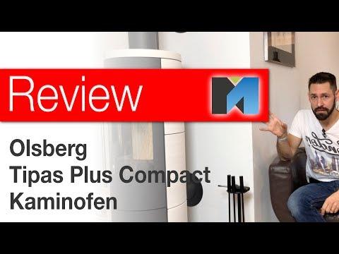 Olsberg Kaminofen 🔥 Tipas Plus Compact im Test: Feuer frei! [deutsch]