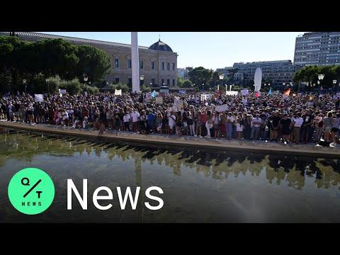 Madrid: Daheim bleiben