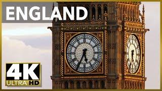 Смотреть онлайн Путешествие по Англии: самые интересные места 4К