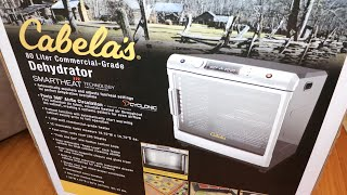 Cabelas 80L Commercial Food Dehydrator Unpacking And First Look