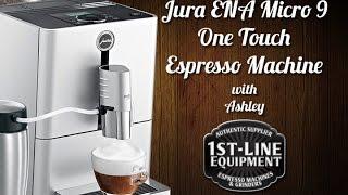 Jura ENA Micro 9 One Touch Espresso Machine