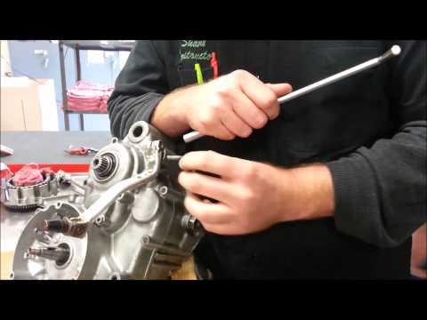2 Stroke Engine Disassembly   Shift Lever & Gear Change Mechanism   10 27 14