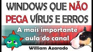 Bloquear Windows Para Vírus Ou Falhas.