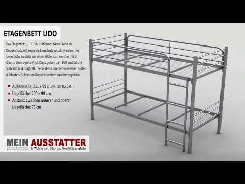 """Metall Etagenbett Modell """"UDO"""""""