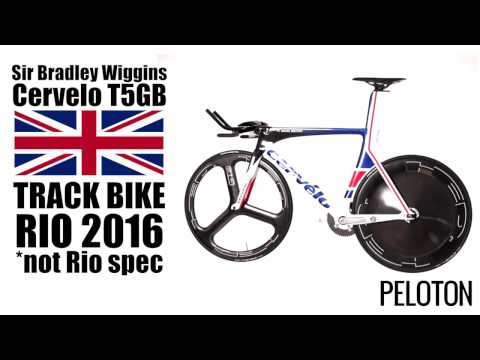 The Fastest Bike in the World? Bradley Wiggins 2016 Rio Olympic Track Bike
