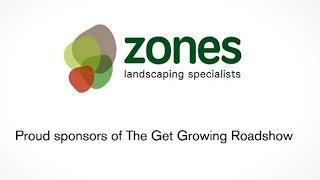 Suburban Zen garden featured on 'The Get Growing Roadshow' 2015