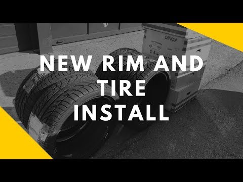 Mercedes c300 Get New rims and tires