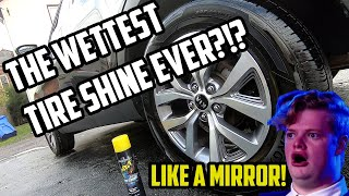 THE WETTEST & BEST TIRE SHINE EVER?   WET Street Legal Tire Shine #MobileDetailing #AutoDetailing