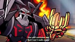 "Daughtry - ""Crashed"" (2006) Bionicle Music Video WITH LYRICS"