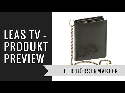 59a696debff04 LEAS TV Der Börsenmakler - BIKER Geldbeutel aus Leder mit Kette für  Motorradfahrer Review